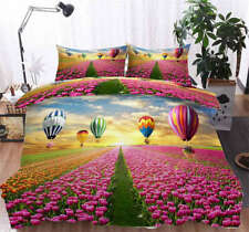 Tulip Balloons 3D Printing Duvet Quilt Doona Covers Pillow Case Bedding Sets