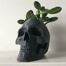 Skull Pot Planter Flower Pot Planter Hand-Made Succulent Decoration 3D Print