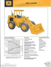 Equipment Brochure - John Deere - 544C - Wheel Loader - c1981 (E2410)