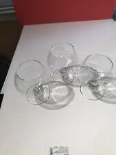 Vintage Short Stemmed Wine champagne Coupe Glasses Set Of 3 goblet dinnerware