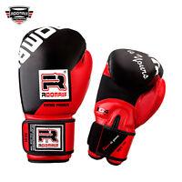 ROOMAIF Boxhandschuhe Kunstleder Sparring Boxen Kickboxen Handschuhe Muay thai