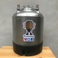 10L Corny Cornelius Reconditioned Beer Keg Steel Handle Ball Lock Homebrew