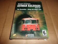 Microsoft Train Simulator - German Railroads - (PC,2003)-NEW