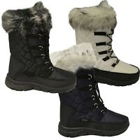 XTM Inessa Ladies Warm Winter Apres Snow Boots Euro Size 36-42