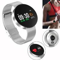 Bluetooth Smart Watch Sport Wrist Watch Heart Rate Monitor for Samsung Huawei LG