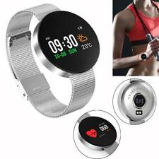 Round Touchscreen Smart Watch Heart Rate Sport Bracelet for Samsung Huawei LG