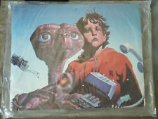 ATARI E.T. The Extra Terrestrial VIDEO GAME PROMO SIGN MOBILE - VINTAGE NEW