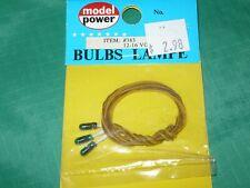 Model Power #383 Bulbs 12-16 volt, Green (3/pkg)