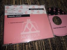 ALANIS MORISSETTE HANDS CLEAN(ALBUM VERSION) CD SINGLE 2002 PROMO GERMANY