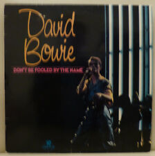 """10"""" Langspielplatte; David Bowie, Don`t be fooled by the Name, PRT 1966 USA VG++"""