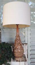 MIDCENTURY Ceramic Table Lamp Artichoke