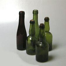 5 x alte Apothekerflasche Gefäß Flasche