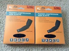 Lot Of 2 New Champion Padded Compression Arm Sleeve Size L / XL