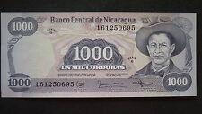 New listing Nicaragua 1000 Cordobas Banknote - 1987 - Crisp Uncirculated