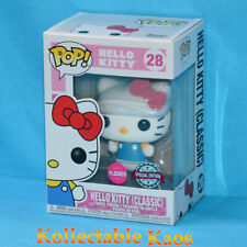 Hello Kitty Flocked US Pop Highly Collectible Vinyl Figure Toy