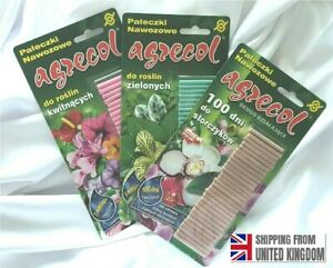 Foliage Green, Flowering and Orchids Plants, FERTILIZING STICKS, MIX, 100 days