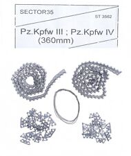 Sector35 3562-SL Assembled metal tracks for Pz.Kpfw III Pz.Kpfw IV (360 mm) 1/35