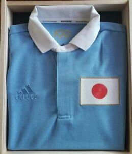 JAPAN NATIONAL SOCCER TEAM 100TH ANNIVERSARY UNIFORM LE box set. Medium