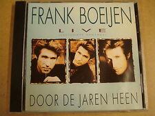 CD / FRANK BOEIJEN - LIVE - DOOR DE JAREN HEEN