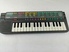 Casio SA-5 Songbank Mini Electronic Keyboard, tested and working great