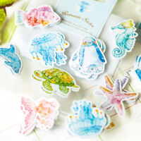 70X Kawaii Stickers Crafts Scrapbooking Labels Stickers Decor Paper DIY Supplies