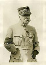 """""""Le Général PAU pendant 14-18 (Décès 1932)"""" Photo originale G. DEVRED / Agce ROL"""