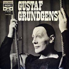 """7"""" GUSTAF GRÜNDGENS Mephisto-Lieder Faust / Sein oder Nichtsein Hamlet ELECTROLA"""