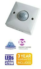 Timeguard 120° Wall Mount PIR Presence Detector PDWM1500 Switches Light On LUX
