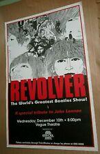 Revolver The World's Greatest Beatles Show Original Poster Tribute John Lennon