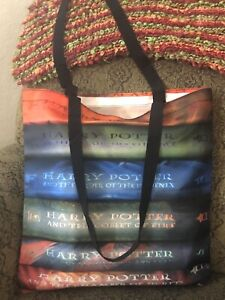 """Harry Potter Book Series 15"""" X 15"""" Tote Bag"""