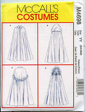 Full Cape with Full Hood/Caplet - McCalls Sewing Pattern - Small/Med