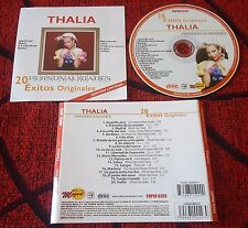THALIA ***Personalidades - 20 Exitos *** LIMITED EDITION 2016 MEXICO CD YURI FEY
