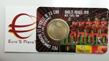 Coin card 2,5 euro 2018 Diables Rouges BELGIO Belgique Belgica België Belgium FR