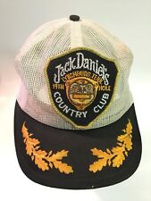 *RARE Vintage Collectible JACK DANIELS COUNTRY CLUB 19TH HOLE Mesh Snap Back Hat
