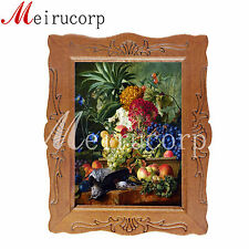 1:12 scale miniature picture vegetables flower fruit dollhouse furniture