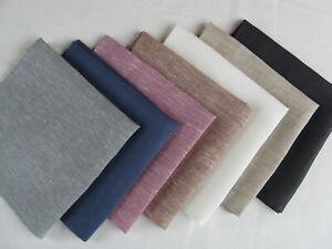 100% Linen Napkins Cloth Table Dinner Wedding Natural Napkin Set