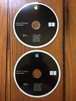 2007 Macintosh Mac Final Cut Studio Live Type Media Ver 2.0 Software Install CDs