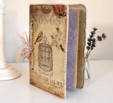 Estilo Vintage portátil Scrapbook álbum de fotos para recuerdos personales Recuerdos