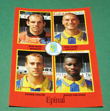 N°319 BRANGER CECCUTTI COLLIN EPINAL D2 PANINI FOOT 97 FOOTBALL 1996-1997