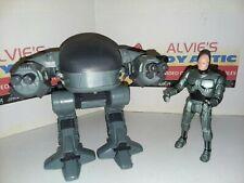 Vintage Robocop Ed-209 + Robocop Action Figure 1989 Orion Kenner Lot