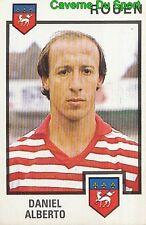 258 DANIEL ALBERTO ARGENTINA FC.ROUEN VIGNETTE STICKER FOOTBALL 85 PANINI