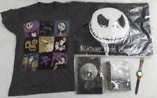 Nightmare Before Christmas,Watch,XS Shirt,Lock Journal,Photo Album,Mat, Lot of 5