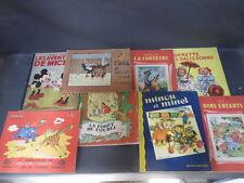 Set di 8 libri per bambini Virava Favole di Sylvain e sylvette old child libri