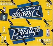 2016-17 Panini PRESTIGE Basketball NBA Trading Cards 144ct. Retail Box = Autos?