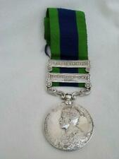 George V India General Service Medal With Clasps - RP.796 SEPOY SHERU,IND.TEL.