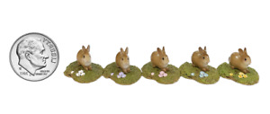 Wee Forest Folk Accessory 009 Spring Bunny - Assorted (RETIRED)