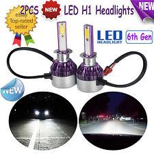 NEW 200W H1 LED Headlight Vehicle Light Car Lamp Hi Lo Beam Bulb Kit 6000k White