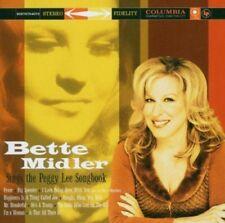 Bette Midler Sings The Peggy Lee Songbook (Audio CD) Import NEW