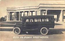 "Platteville Wi Reo 32 Passenger Speed Wagon"" Bus"" Rppc Postcard"