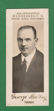 PAULTON'S OF WOLVERHAMPTON - VERY RARE FOOTBALL CARD -  GEORGE  HOLLEY   -  1924